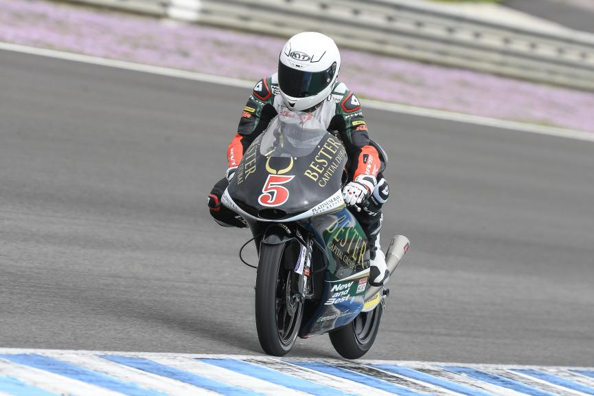 Jaume Masia, Bester Capital Dubai, Jerez Moto2 & Moto3 Official Test