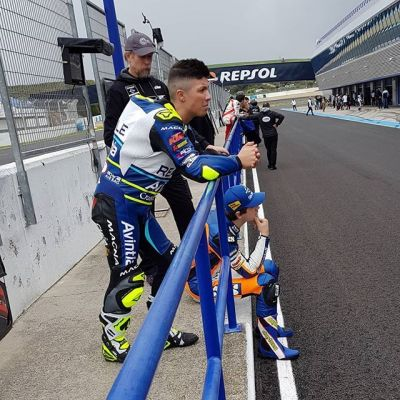 Only a few laps this morning because of the weather ! Later more ✊
