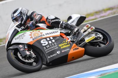 Lowes et Martín récupèrent les commandes à Jerez