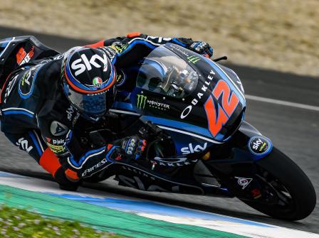 Jerez Moto2 & Moto3 Official Test