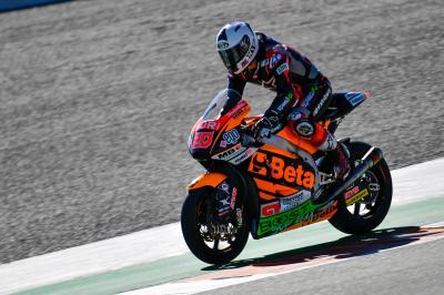 Quartararo mène l'ultime journée pluvieuse à Jerez