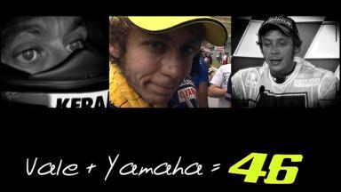 Valentino Rossi's Yamaha era