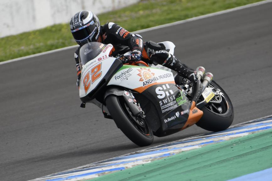 Sam Lowes, Swiss Innovative Investors, Jerez Moto2 & Moto3 Official Test