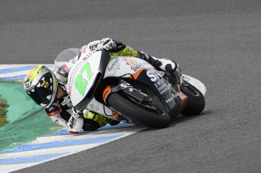 Iker Lecuona, Swiss Innovative Investors, Jerez Moto2 & Moto3 Official Test
