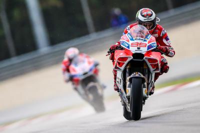 Lorenzo parviendra-t-il à dompter la Ducati?
