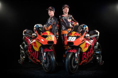 Red Bull KTM Factory Racing en présentation à Salzbourg