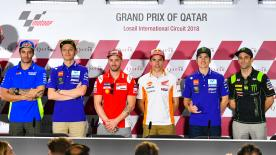 L'appuntamento con i media che apre il fine settimana al Losail International Circuit