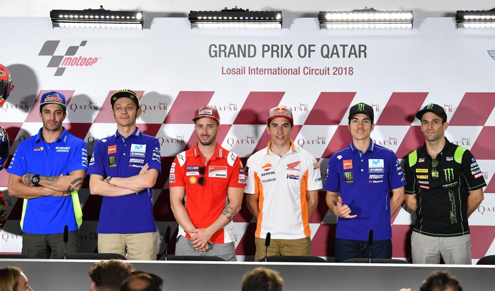 Press-Conference, Grand Prix of Qatar