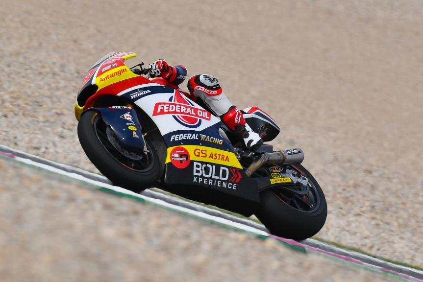 Jorge Navarro, Federal Oil Gresini Moto2, Grand Prix of Qatar