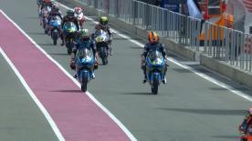 Das erste freie Training des Wochenendes in der Moto3™-Klasse.
