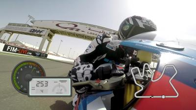 GoPro™: Simon Crafar's On-Board lap at Losail