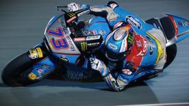 Alex Marquez holt sich in Losail International Circuit am Freitag die Tagesbestzeit in der Moto2™.