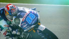 Del Conca Gresini Moto3-Pilot Jorge Martin ist am Freitag die Moto3™-Bestzeit in Losail gefahren.