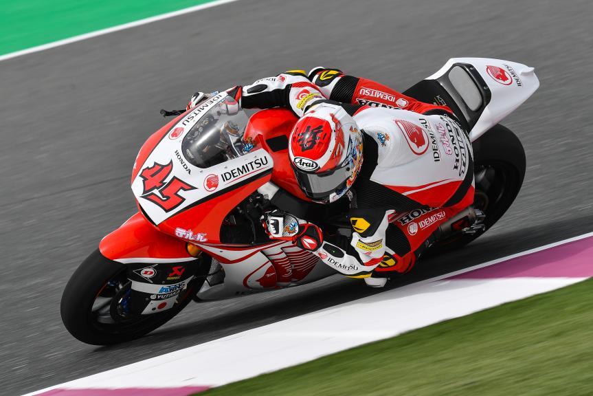 Tetsuta Nagashima, Idemitsu Honda Team Asia, Grand Prix of Qatar