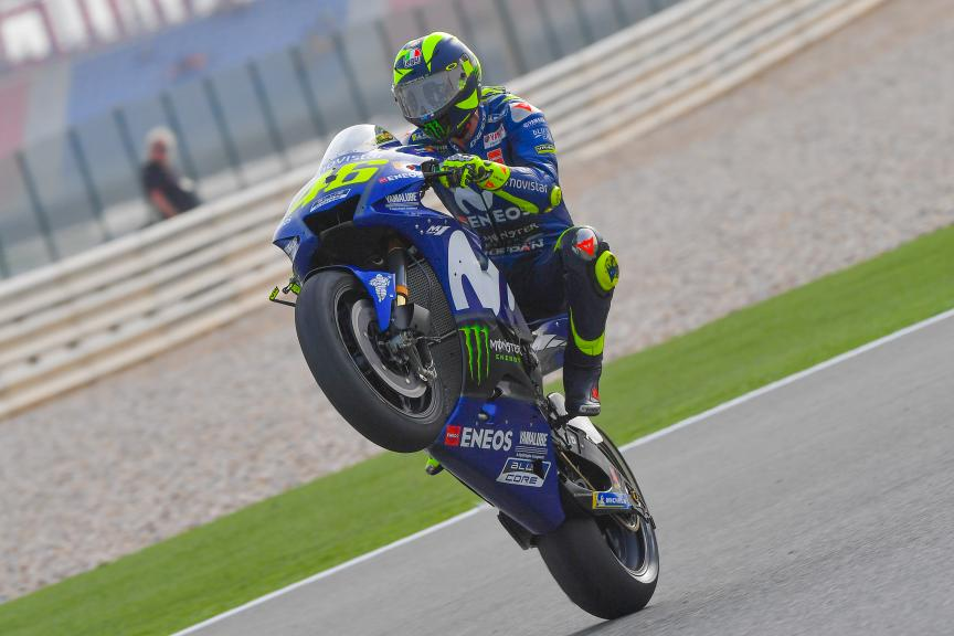Valentino Rossi, Movistar Yamaha MotoGP, Grand Prix of Qatar