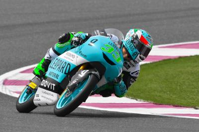 Bastianini blasts to the top in FP1