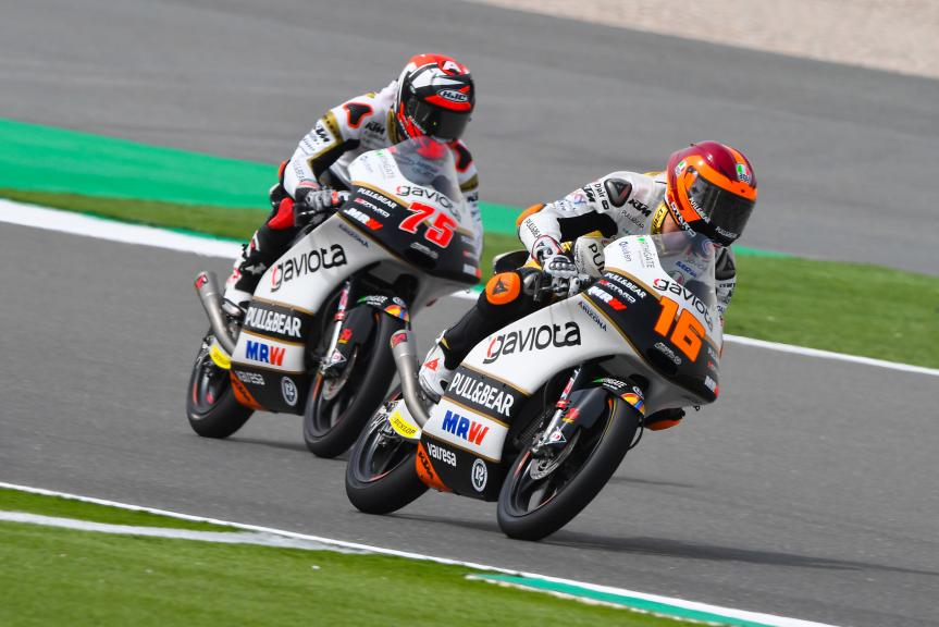 Andrea Migno, Albert Arenas, Angel Nieto Team Moto3, Grand Prix of Qatar