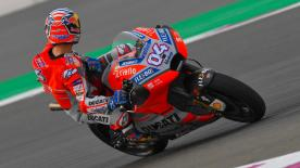 Andrea Dovizioso ist die Freitagsbestzeit der MotoGP™-Klasse zum Großen Preis von Katar gefahren.