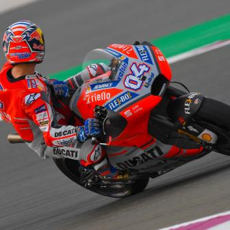 MotoGP™: Dovizioso vor Petrucci und Rins