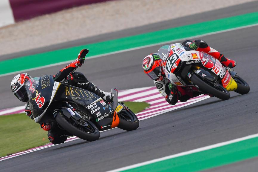 Jaume Masia, Bester Capital Dubai, Niccolo Antonelli, SIC58 Squadra Corse, Grand Prix of Qatar
