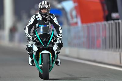 How fast is the new MotoE™ bike at Losail?