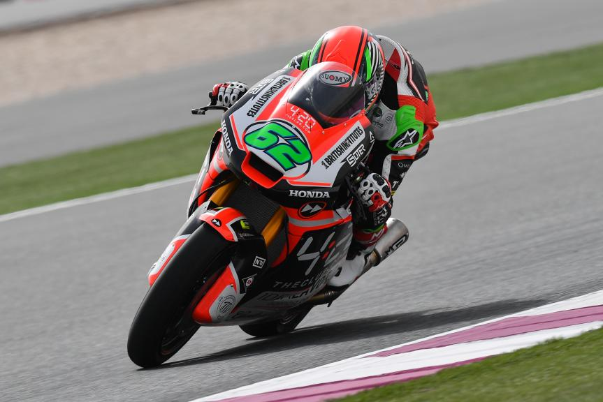 Stefano Manzi, Forward Racing Team, Grand Prix of Qatar
