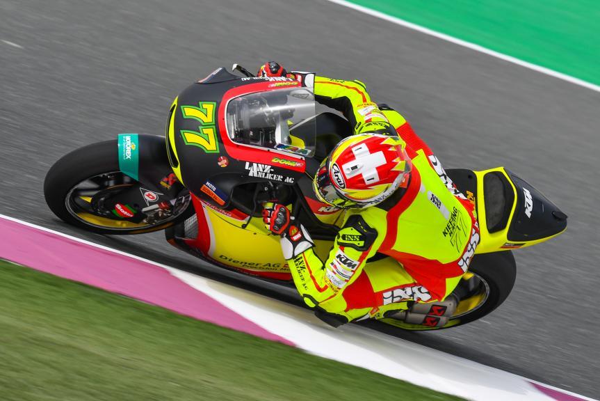 Dominique Aegerter, Kiefer Racing, Grand Prix of Qatar