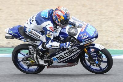 Martín y Lowes mantienen sus tiempos en el Test de Jerez