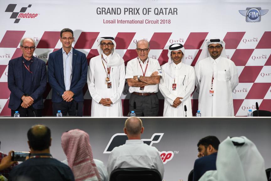 Press-Conference, Grand Prix of Qatar
