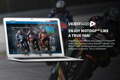 Follow the Americas GP LIVE with VideoPass