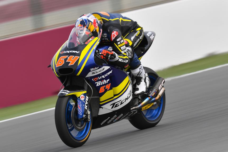 Bo Bendsneyder, Tech 3 Racing, Grand Prix of Qatar