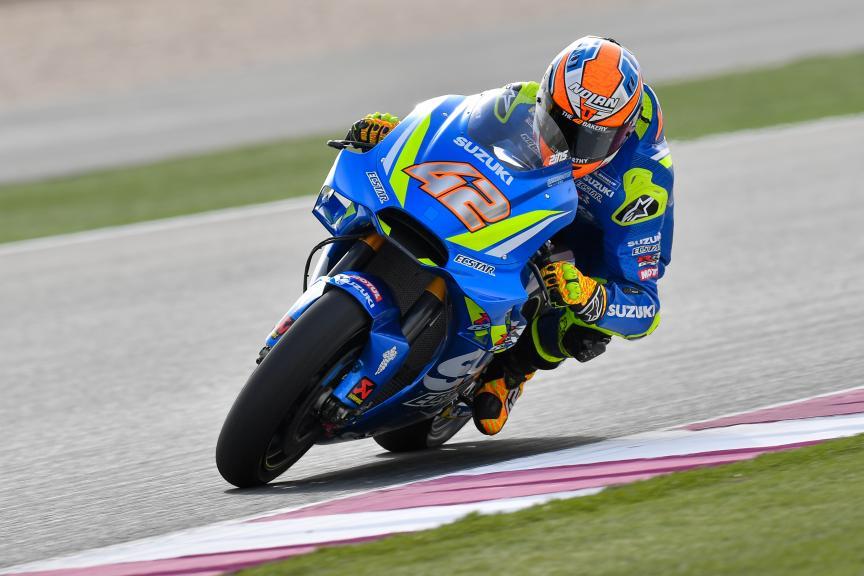 Alex Rins, Team Suzuki Ecstar, Grand Prix of Qatar