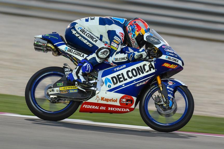Jorge Martin, Del Conca Gresini Moto3, Grand Prix of Qatar