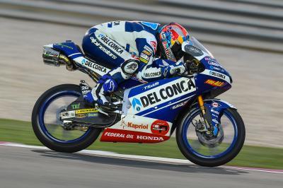 Moto3™: Martin bereits an Tag 1 in Katar mit Streckenrekord