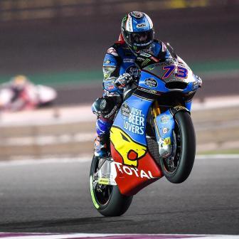 Moto2™: Alex Marquez holt Freitagsbestzeit