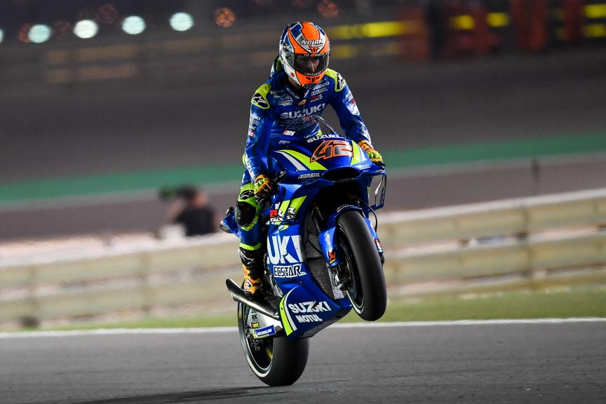 Alex Rins, Team Suzuki Ecstar, Grand Prix of Qatar