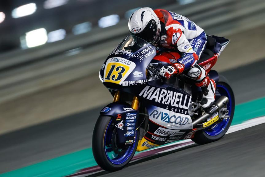Romano Fenati, Marinelli Snipers Team, Grand Prix of Qatar