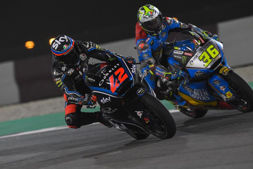 Francesco Bagnaia, Joan Mir, Grand Prix of Qatar