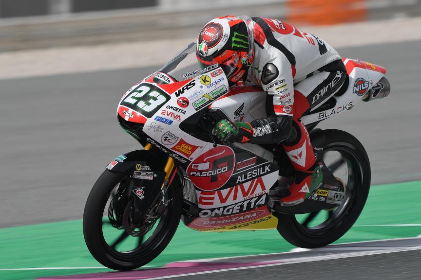 Niccolo Antonelli, SIC58 Squadra Corse, Grand Prix of Qatar