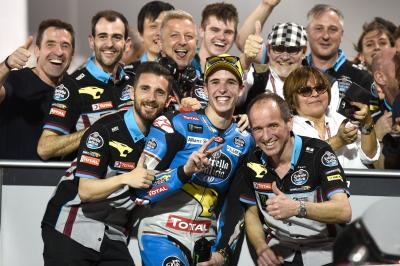 Alex Marquez storms to pole in the Qatar desert