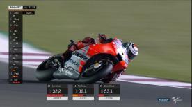 Die finalen 120 Sekunden der MotoGP™ Q2 Session in Losail, als sich der Kampf um die Pole zuspitzte