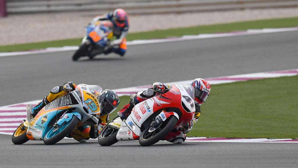 Nakarin Atiratphuvapat, Honda Team Asia, Gabriel Rodrigo, RBA Boe Skull Rider, Grand Prix of Qatar