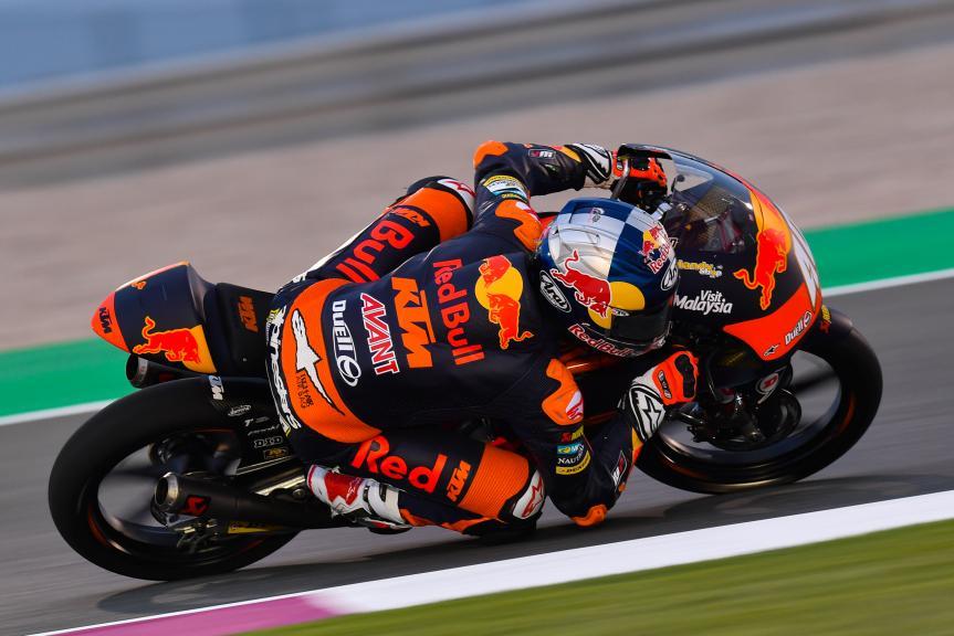 Darryn Binder, Red Bull KTM Ajo, Grand Prix of Qatar