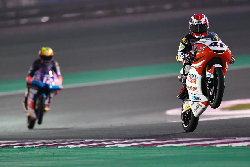 Nakarin Atiratphuvapat, Honda Team Asia, Grand Prix of Qatar