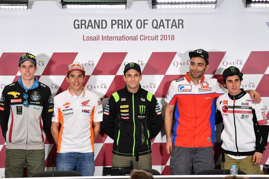 Press-Conference, Grand Prix of Qatars