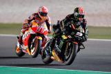 Johann Zarco, Monster Yamaha Tech 3, Marc Marquez, Repsol Honda Team, Grand Prix of Qatar