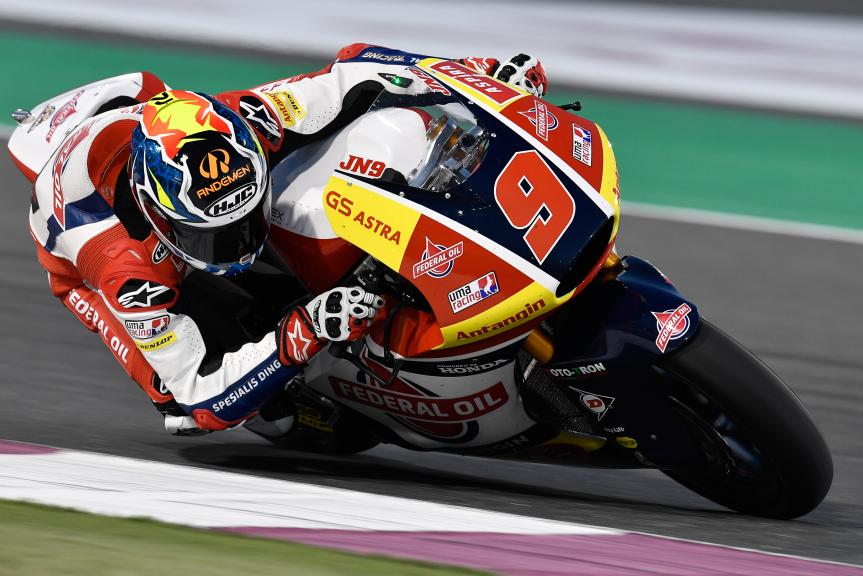 Jorge Navarro, Federal Oil Gresini Moto2, Grand Prix of Qatar