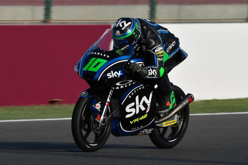 Dennis Foggia, Sky Racing Team VR46, Grand Prix of Qatar