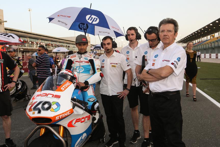 Hector Barbera, Pons Hp40, Grand Prix of Qatar