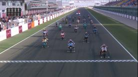 Enjoy the full race for the Moto3™ field at the #QatarGP, with it going down to the wire in the opening race of the season